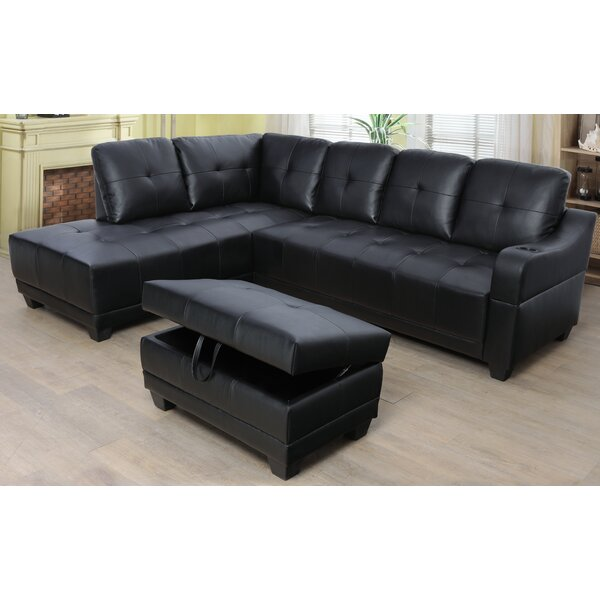 Turnham Sectional With Ottoman By Latitude Run
