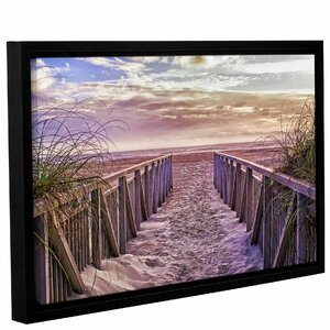 'Entry' Framed Photographic Print on Canvas by Highland Dunes