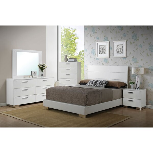 Schiavone Upholstered Standard Bed by Latitude Run