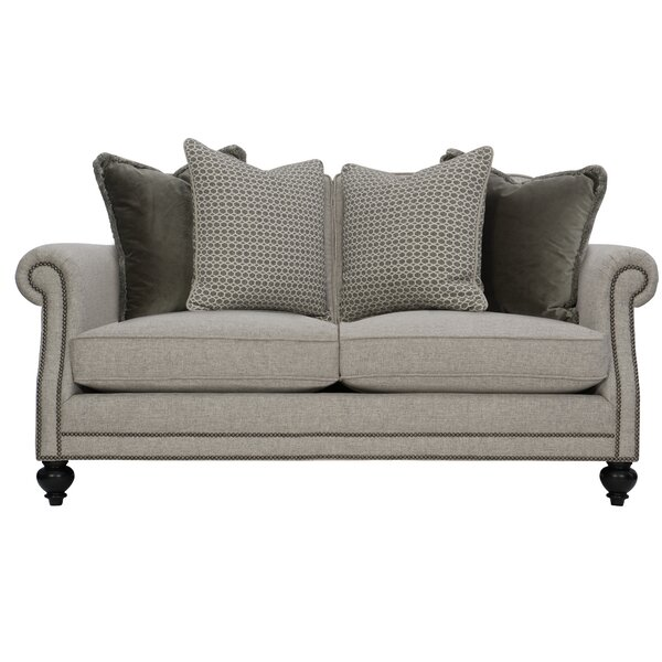Home & Outdoor Brae 70.5'' Rolled Arm Loveseat