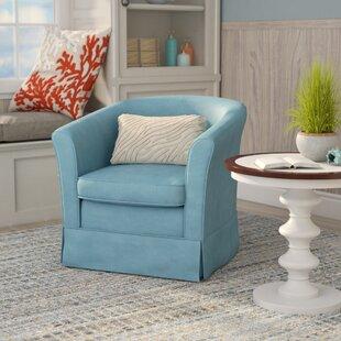 Merveilleux Round Swivel Cuddle Chair | Wayfair