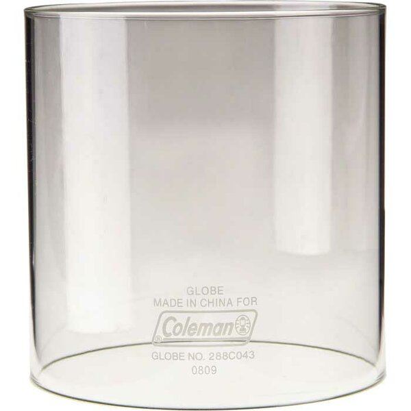 Clear Glass Lantern Globe by Coleman
