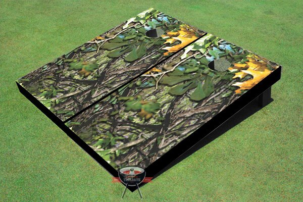 Camo Cornhole Board (Set of 2) by All American Tailgate