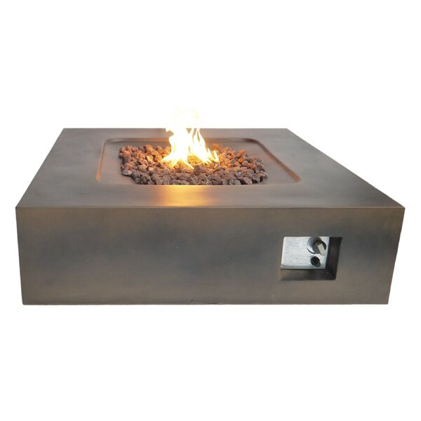 Flint Propane Fire Pit Table by Teva Furniture