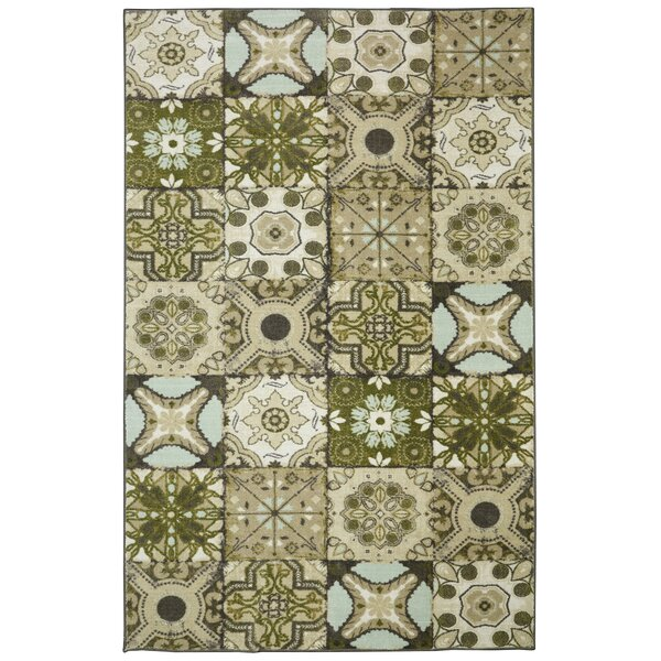 Rockport Tan Area Rug by Red Barrel Studio