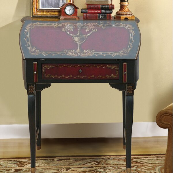 Royse Wooden Secretary Desk by Astoria Grand