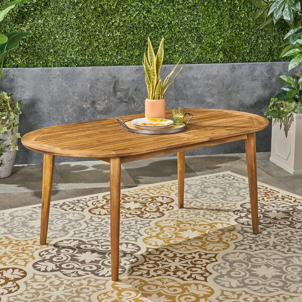 Meriam Wooden Dining Table by George Oliver