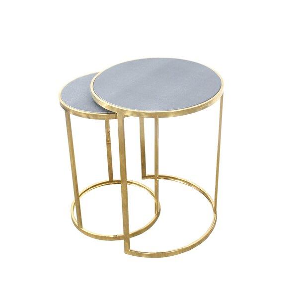 Dulcie 2 Piece Nesting Tables By Mercer41