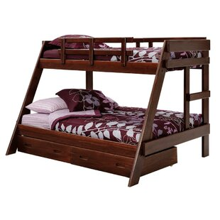 Where buy  Twin over Full Bunk Bed with Storage By Chelsea Home
