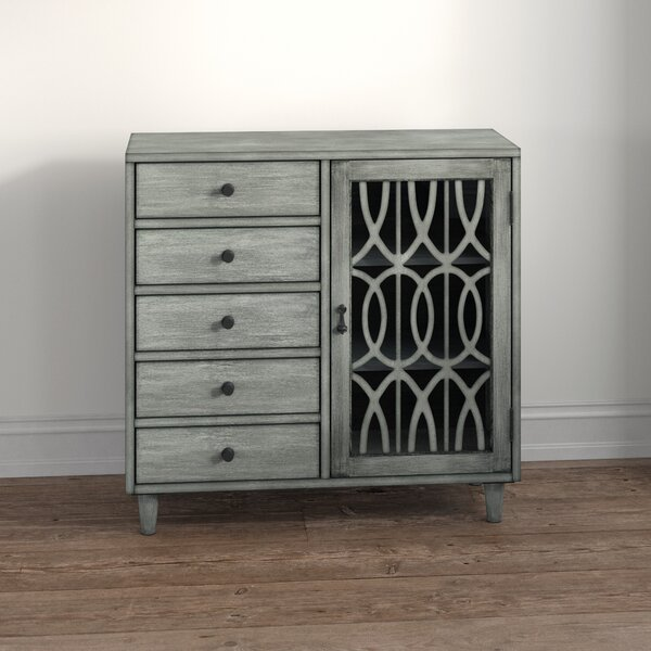 Rosehill 1 Door Accent Cabinet by Bungalow Rose Bungalow Rose