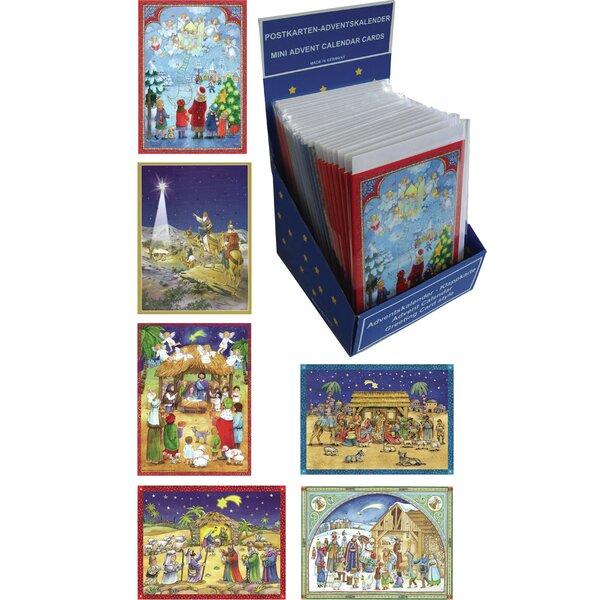 Sellmer 36 Piece Christmas Advent Calendar Set by The Holiday Aisle