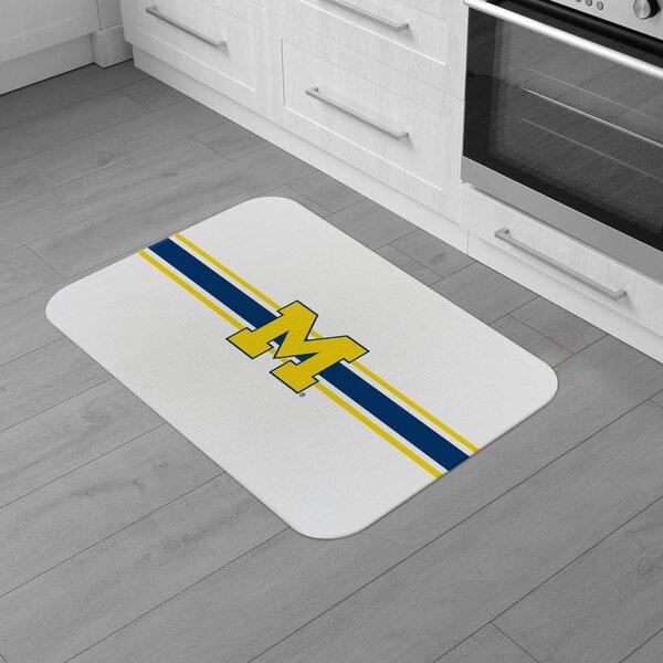 Michigan University Burlap Comfort Anti-Fatigue Mat