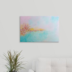 'Seashell Serenade II' Painting Print on Wrapped Canvas by Great Big Canvas