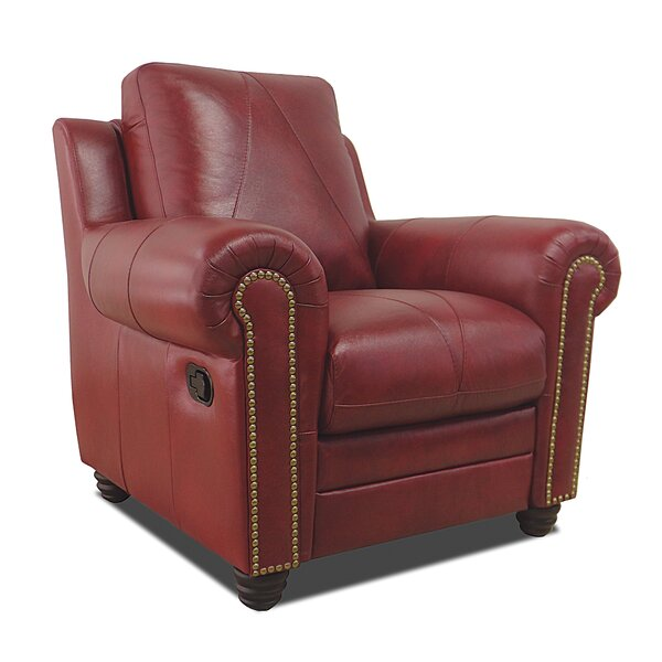 Barnstormer Leather Power Wall Hugger Recliner