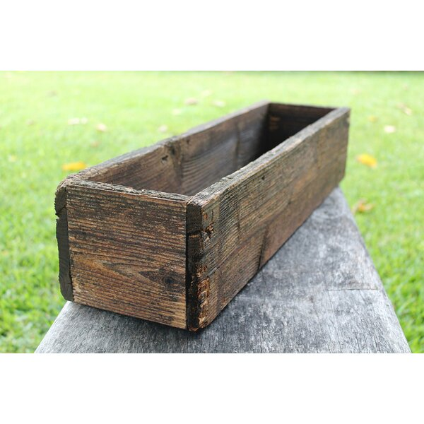 Withun Wood Planter Box by Loon Peak