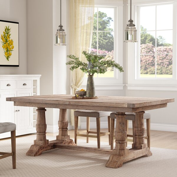 Axtellon Solid Wood Dining Table by One Allium Way One Allium Way