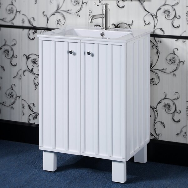 IN Series 24 Single Sink Bathroom Vanity Set by InFurniture