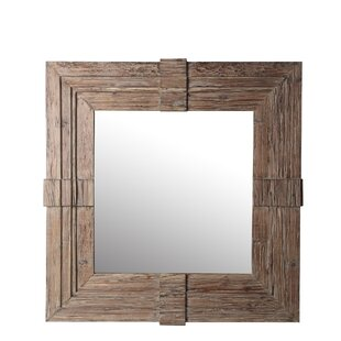 Foundry Select Abshire Geometric Wood Accent Mirror