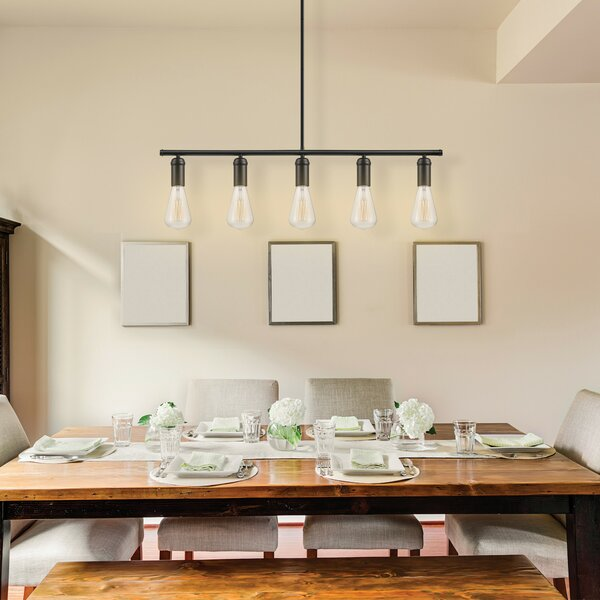 Chromeo 5-Light Kitchen Island Pendant & Reviews