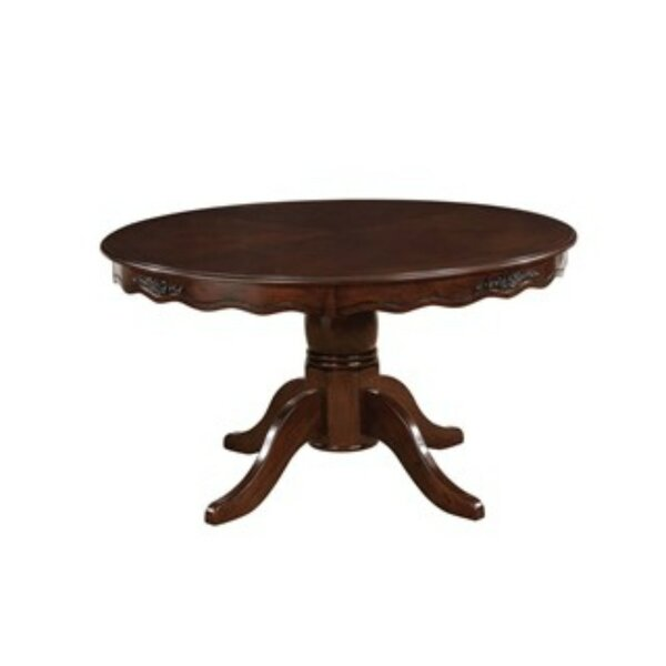 Kamille Solid Wood Dining Table by Alcott Hill