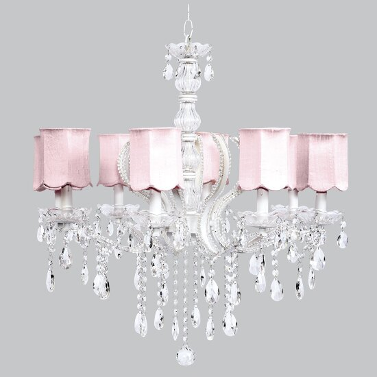 Pageant Pageant 8-Light Shaded Classic / Traditional Chandelier by Jubilee Collection Jubilee Collection