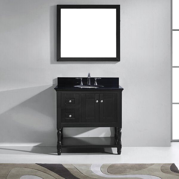 Cicely 37 Single Bathroom Vanity Set with Mirror by Gracie Oaks