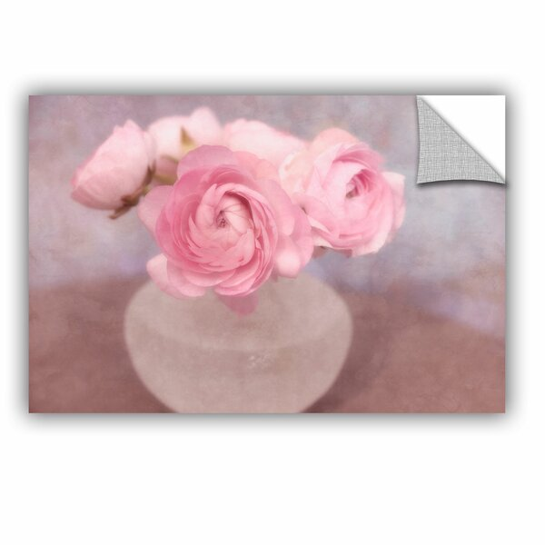 Shabby Elegance Flower Still Life Removable Wall Decal by House of Hampton