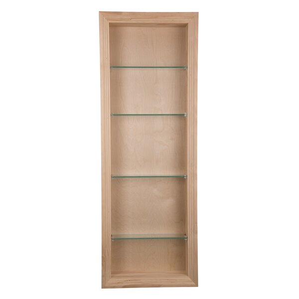 Newberry 14 W x 36 H Recessed Cabinet by WG Wood Products
