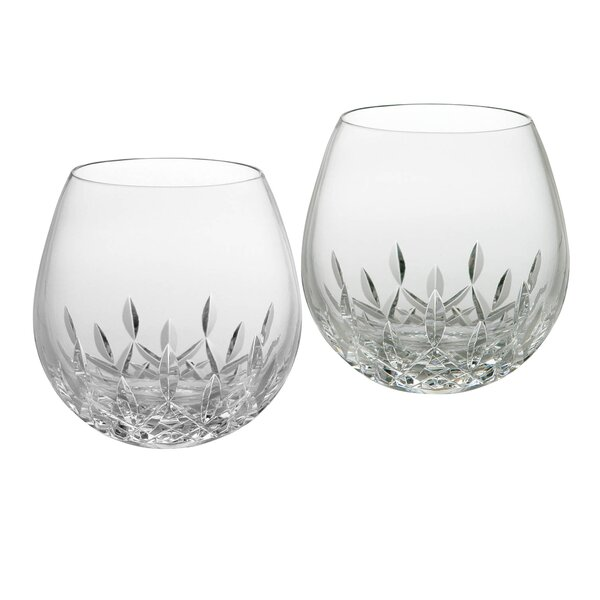 Lismore Nouveau Stemless Wine Glass (Set of 2) by Waterford