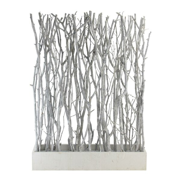 Barnabas Standing Birch Branch Bouquet in Box Table Top Sculpture by Foundry Select