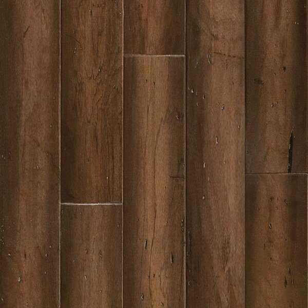 Hometown 5 Engineered Hickory Hardwood Flooring in Buckskin by Mannington