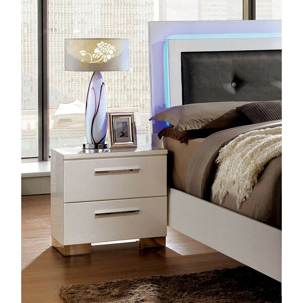 Riddick 2 Drawer Nightstand by Orren Ellis
