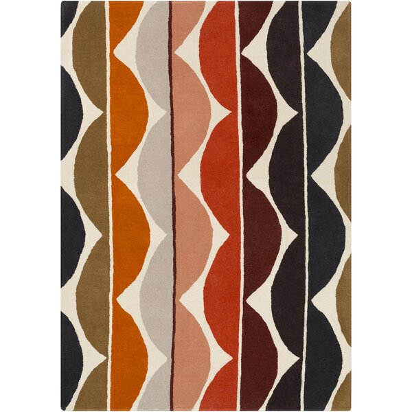 Zayne Beige Area Rug by Wade Logan