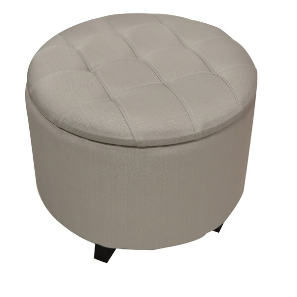 Sherman Upholstered Storage Ottoman by Wildon Home®