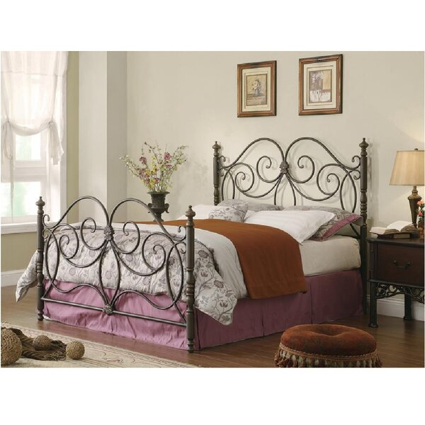 Vanegas Open-Frame Headboard and Footboard by Fleur De Lis Living