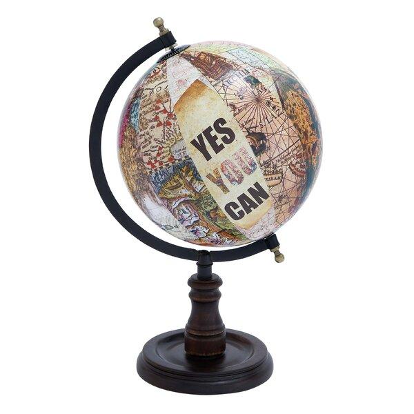 Metal / Wood Globe by Cole & Grey
