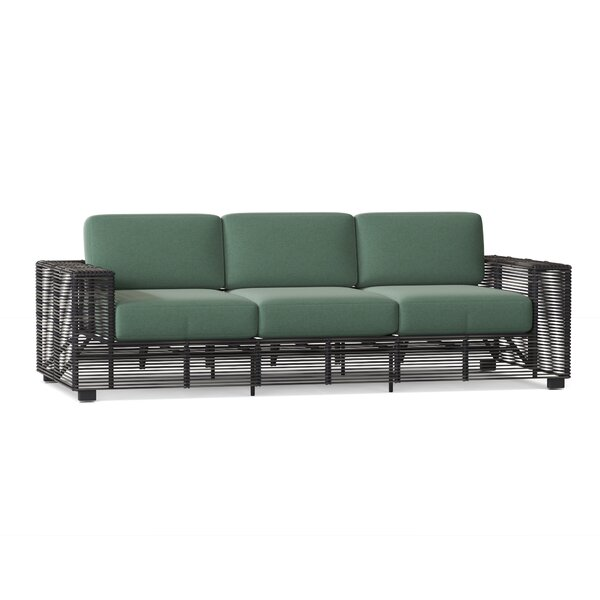 Monroe Patio Sofa with Cushions by Woodard