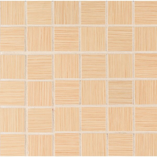 Focus 2 x 2 Porcelain Mosaic Tile in Beige by MSI