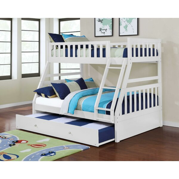 Kanye Twin Over Full Bunk Bed with Trundle by Harriet Bee