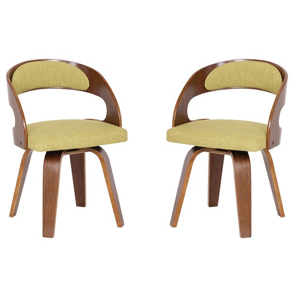 Sayers Upholstered Dining Chair - set of 2 (Set of 2) by Wrought Studio