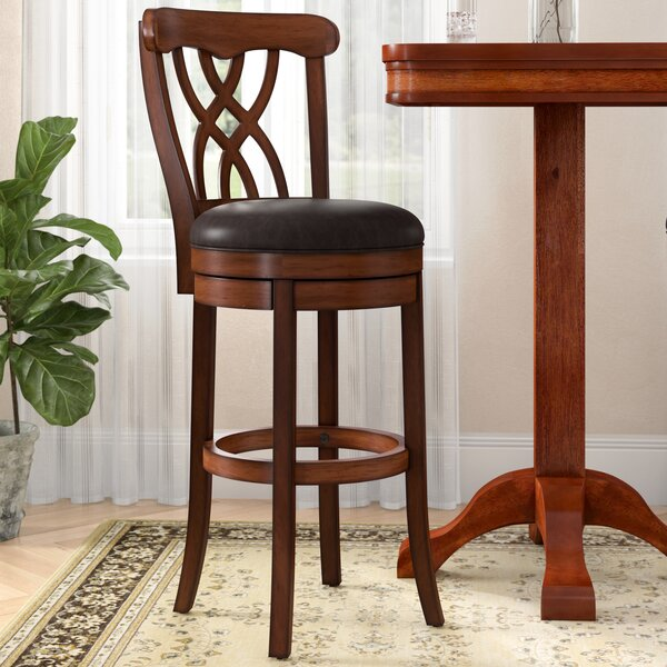 Cora 26 Swivel Bar Stool by Darby Home Co