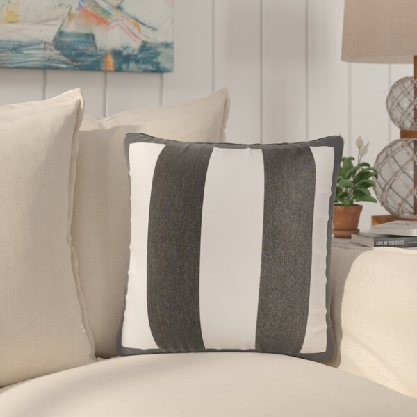 Bridgewood Outdoor Sunbrella Throw Pillow (Set of 2) by Beachcrest Home