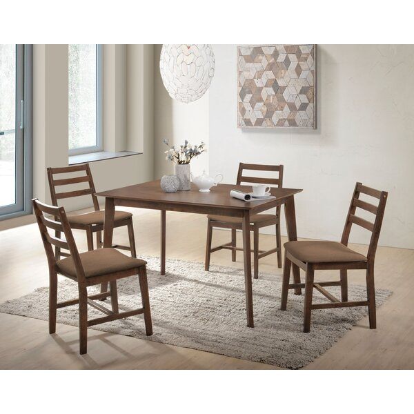 Swarey 5 Piece Dining Set by Wrought Studio