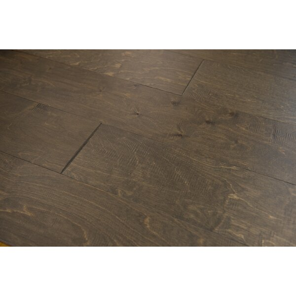 Estonia 6.5 Engineered Birch Hardwood Flooring in Umber by Branton Flooring Collection