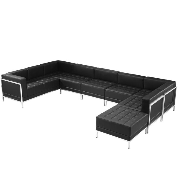 Review Bouffard Melrose Reversible Modular Sectional With Ottoman