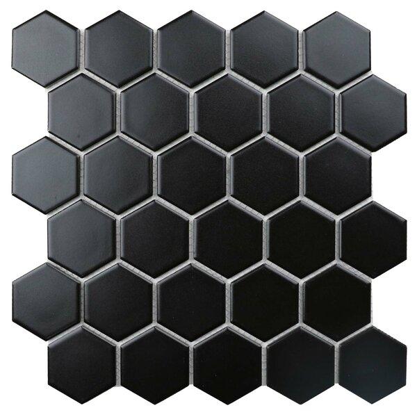 Value Series 2'' x 2'' Porcelain Mosaic Tile in Matte Black by WS Tiles