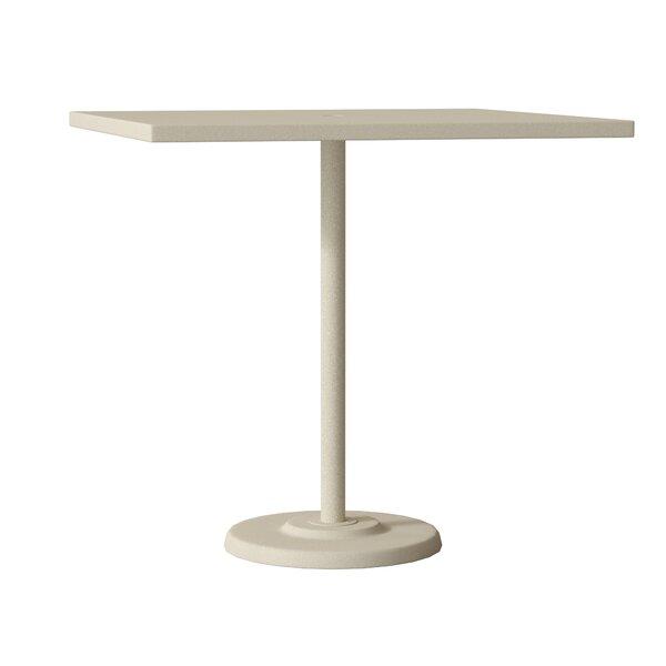 Ion Aluminum Bar Table by Tropitone