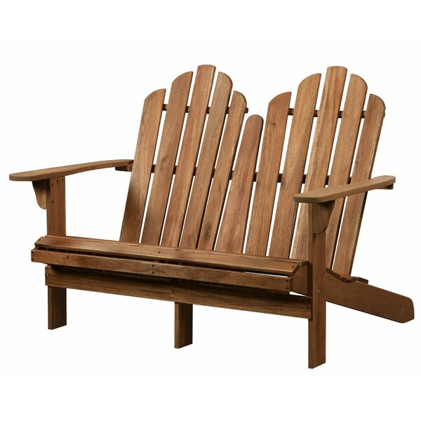 Nelda Wood Bench by August Grove August Grove