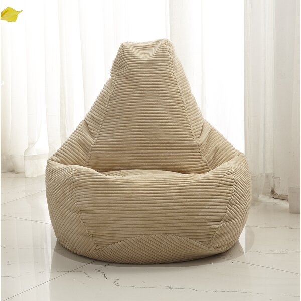 Polystyrene Bean Bag Chair by Zipcode Design
