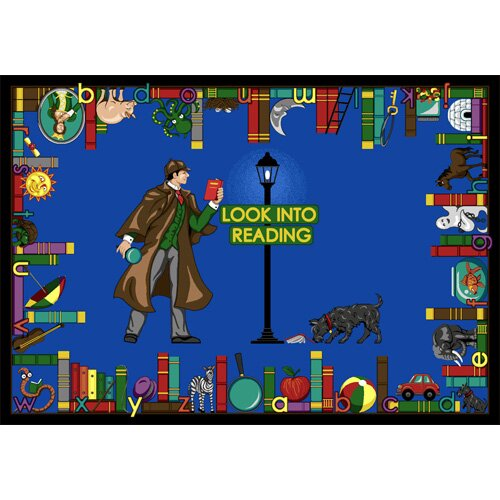Look Into Reading Area Rug by The Conestoga Trading Co.